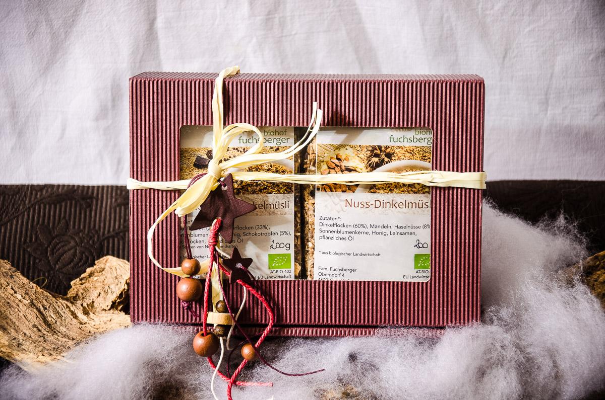 Geschenkbox Müslis Lieblingssorten